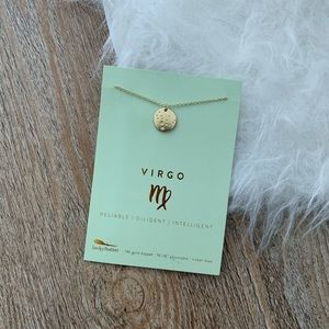 Virgo Zodiac Sign Constellation Necklace